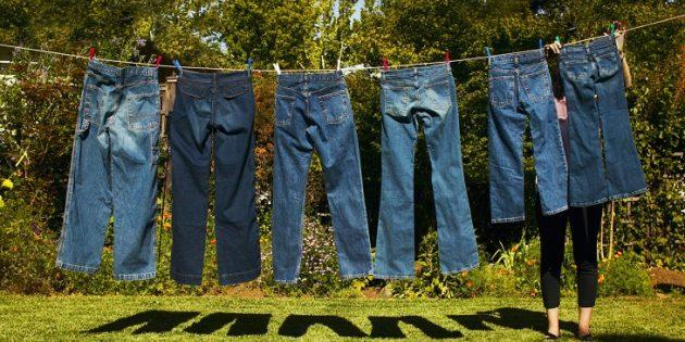cách bảo quản áo khoác jean