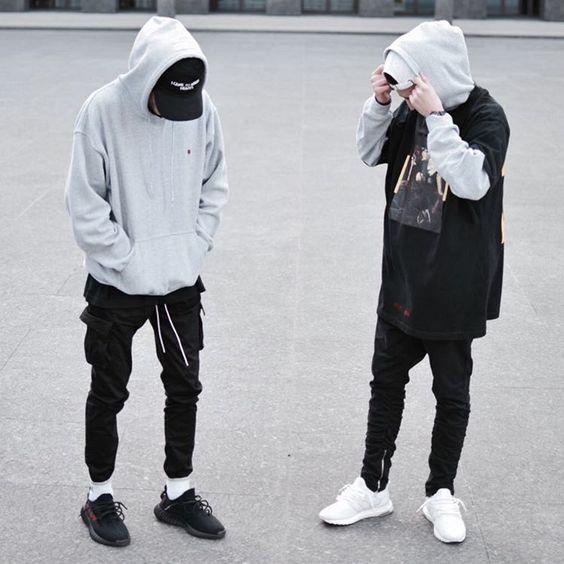 cách phối đồ với áo hoodie nam