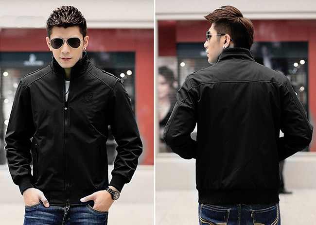 chọn áo khoác nam cho người gầy