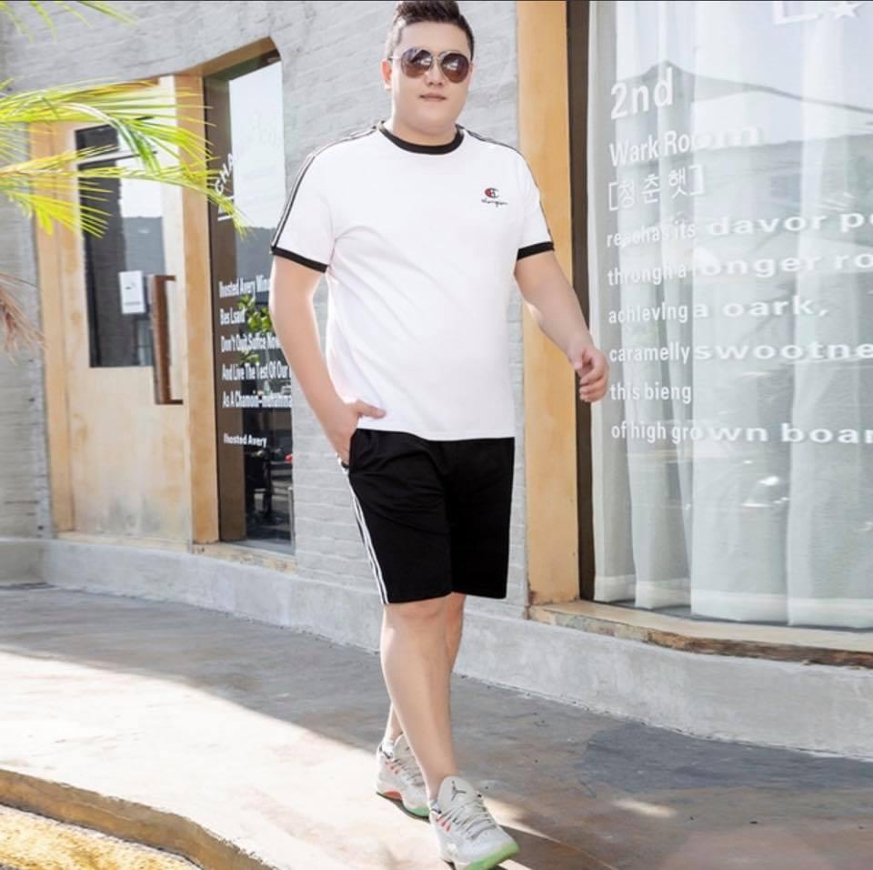 Mẹo chọn quần short cho chàng béo cá tính