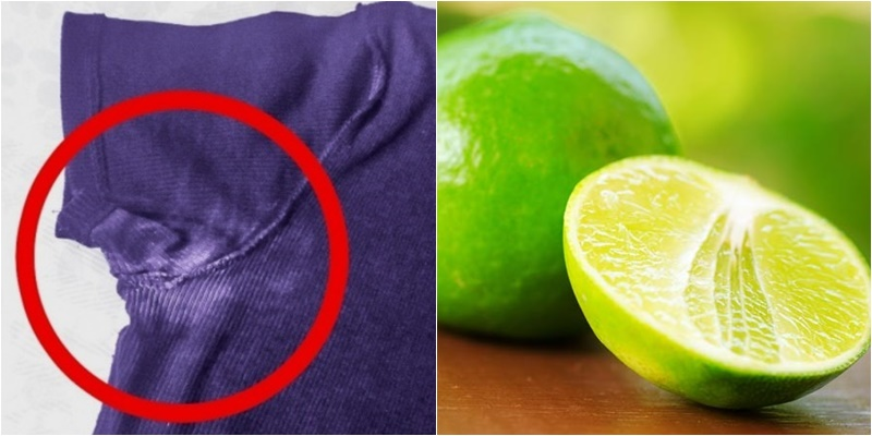 cách làm sạch nách áo bị vàng