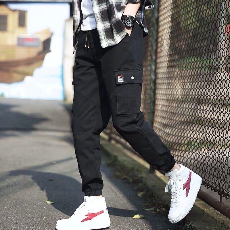 phối quần Jogger nam với giày